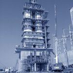 Nuovo cementificio in Algeria – progetto strutturale telaio spaziale a sostegno di nuovo forno produzione calce_C-SPIN